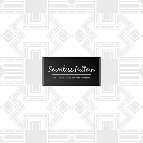 Abstracte naadloze patroon geometrisch ontwerp achtergrond