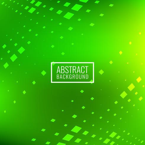 Fondo verde claro abstracto de los bloques cuadrados
