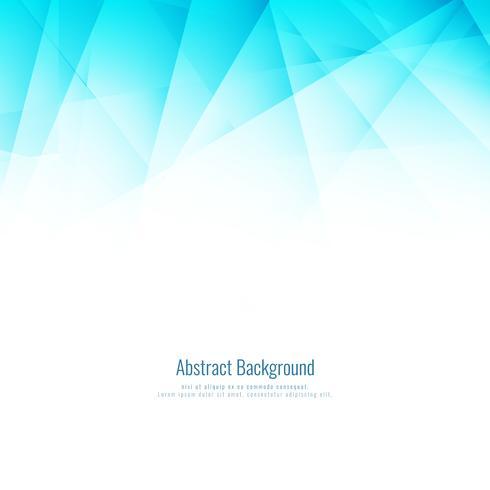 Fundo poligonal geométrico azul brilhante abstrato