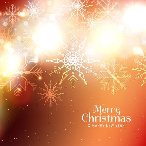 Fundo elegante de feliz Natal abstrata