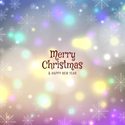 Abstracte prettige kerst kleurrijke achtergrond