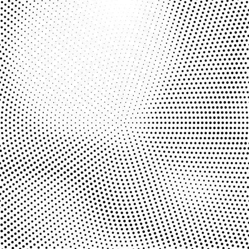 Projeto de fundo abstrato de meio-tom vetor
