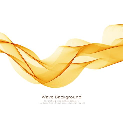 Abstract bright wave elegant background