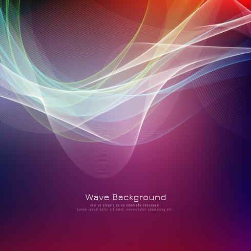 Heller Hintergrund der abstrakten bunten Welle