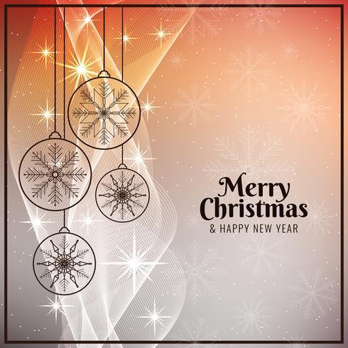 Fundo abstrato brilhante feliz Natal