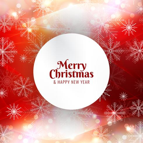 Resumo feliz Natal fundo vermelho brilhante