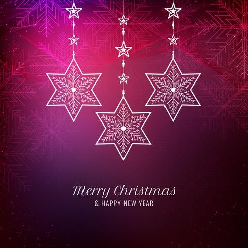 Abstracte elegante Merry Christmas-achtergrond