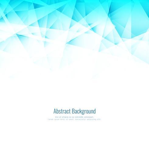 Abstrait bleu clair polygonale vecteur