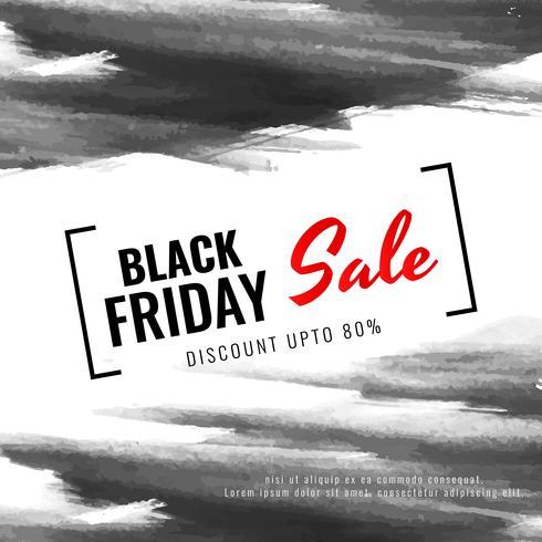 Fondo de venta de viernes negro abstracto vector