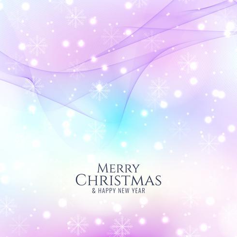 Abstrait joyeux Noël lumineux