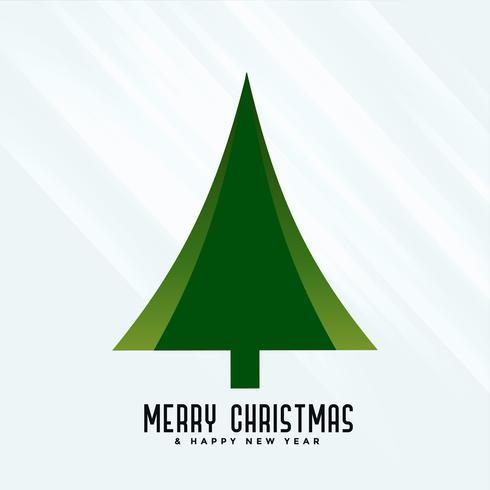 élégant fond de conception d'arbre de Noël