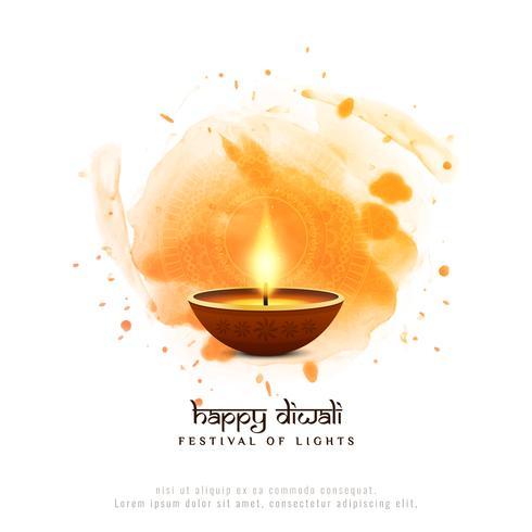 Fundo religioso abstrato feliz Diwali festival