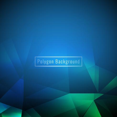 Fondo geométrico colorido elegante abstracto del polígono