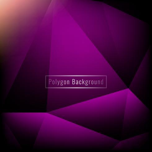Abstrait élégant coloré polygone géométrique