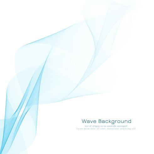 Abstrato azul ondulado design moderno fundo