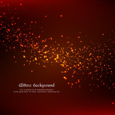 Abstract glowing glitters background