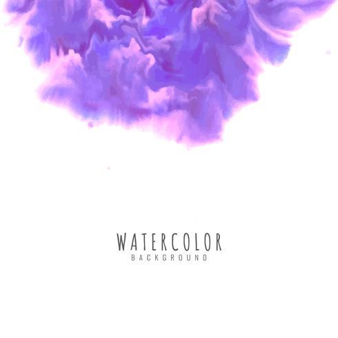 Eleganter Hintergrund des abstrakten Aquarells