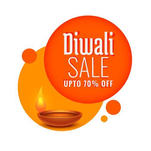 Diwali Festival Verkauf und Rabatt-Vorlage