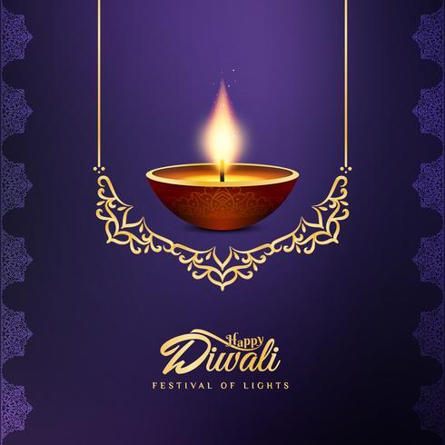 Fundo festival feliz bonito abstrato de Diwali