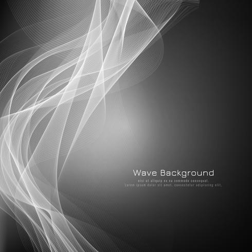 Abstrakt elegant gråvåg bakgrund