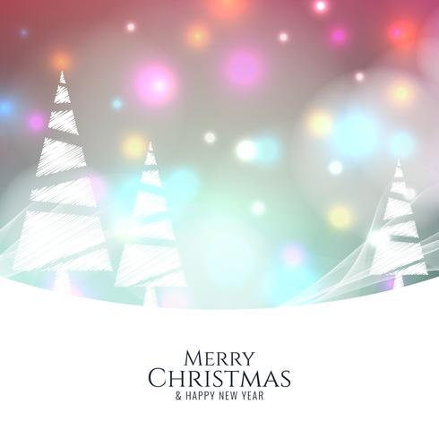 Abstrakter bunter Hintergrund der frohen Weihnachten vektor