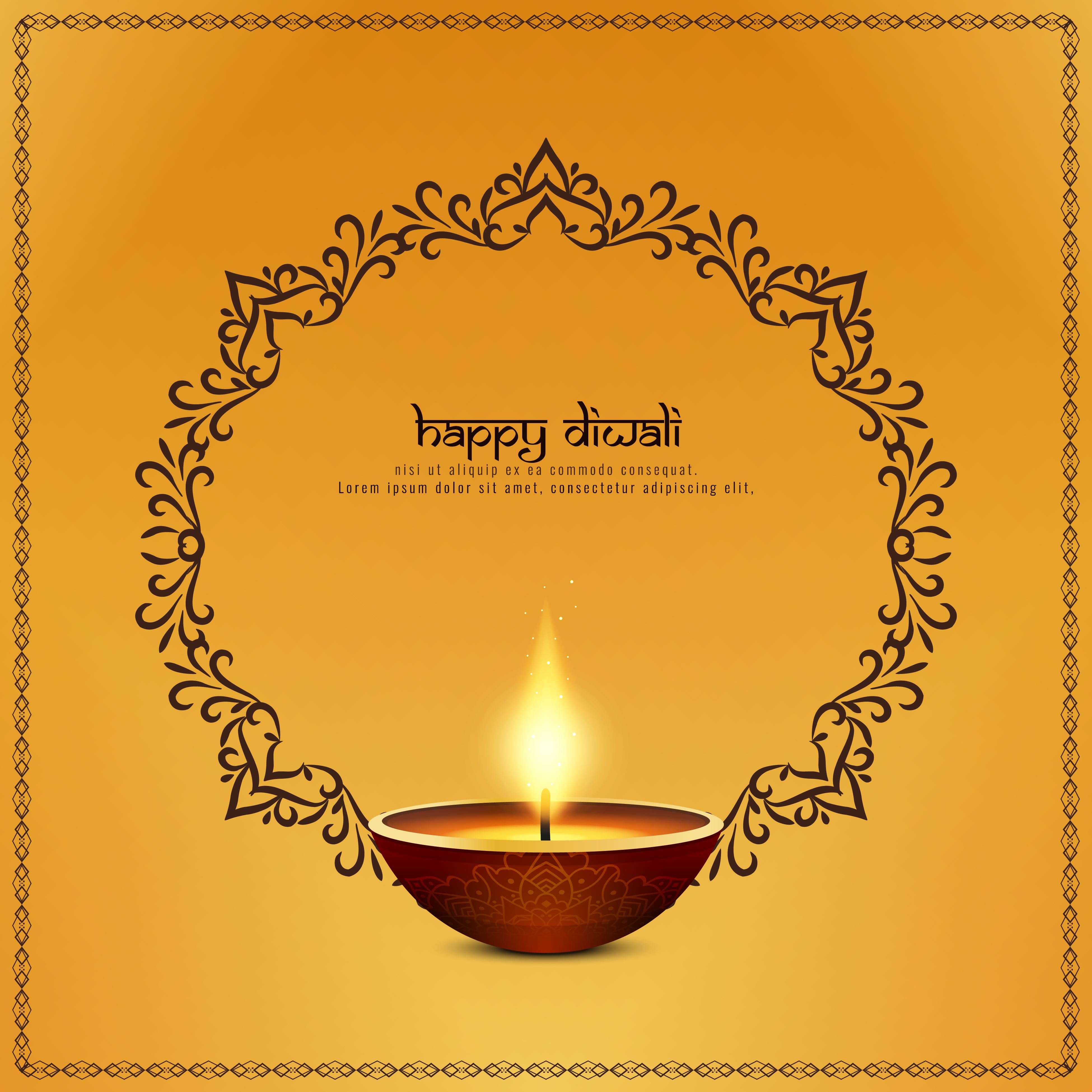 Abstrait Artistique Diwali Heureux Telecharger Vectoriel Gratuit Clipart Graphique Vecteur Dessins Et Pictogramme Gratuit