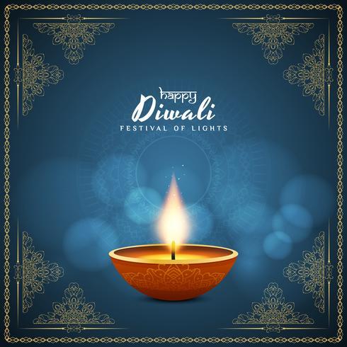 Abstrakter eleganter glücklicher Diwali-Hintergrund