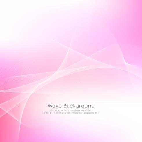 Sfondo astratto onda rosa