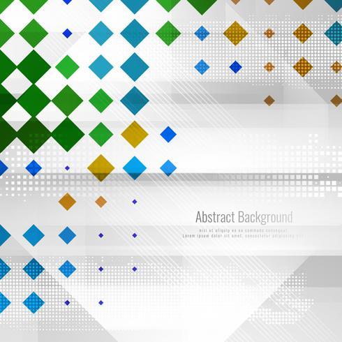 Abstrakter stilvoller bunter polygonaler Hintergrund