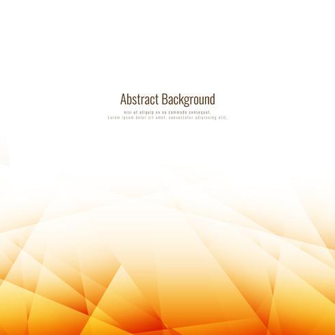 Fondo poligonal marrón brillante abstracto vector