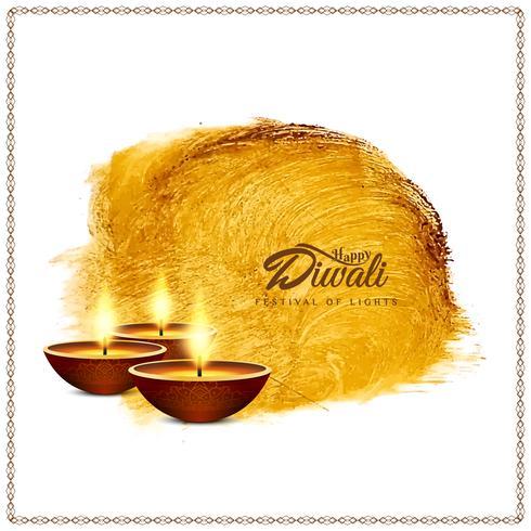 Abstrato feliz Diwali vector fundo