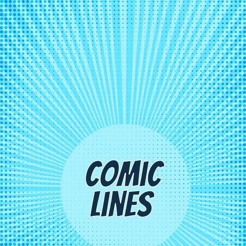Abstract comic book background design