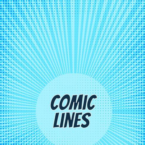 Abstraktes Comic-Buch-Hintergrunddesign vektor
