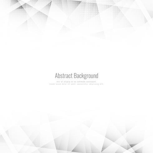 Abstrait géométrique polygonale lumineux