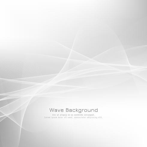 Abstrakt gråvåg bakgrundsdesign