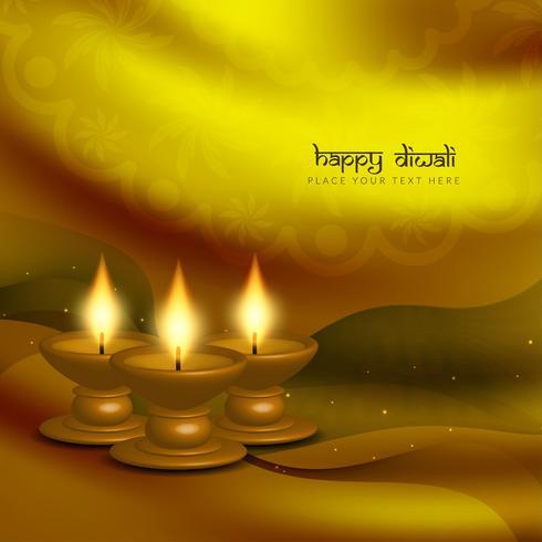 Abstrakter schöner glücklicher Diwali-Grußhintergrund