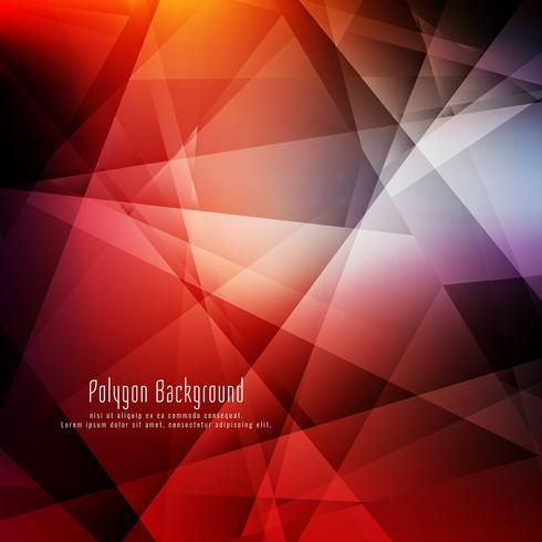 Abstrakter bunter geometrischer heller Hintergrund