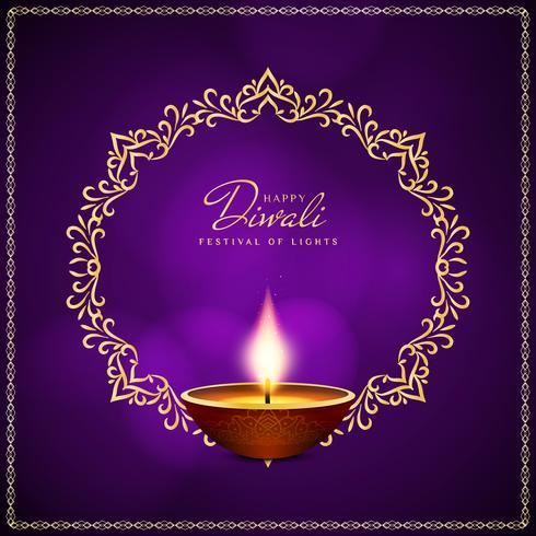 Abstrakter religiöser glücklicher Diwali-Festivalhintergrund