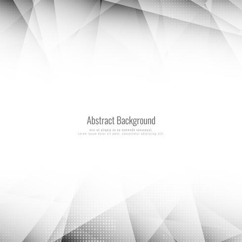 Abstrait polygone gris