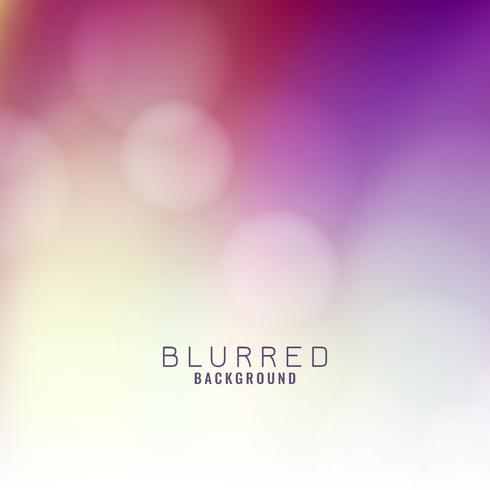 Abstract elegant colorful blurred background vector