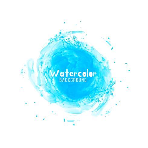 Abstrakter blauer Aquarelldesignhintergrund