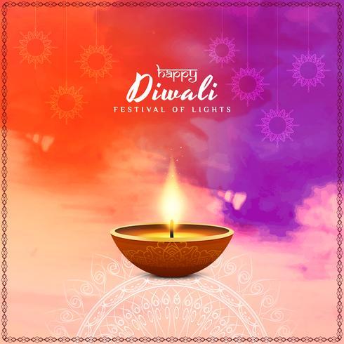Fundo abstrato feliz Diwali