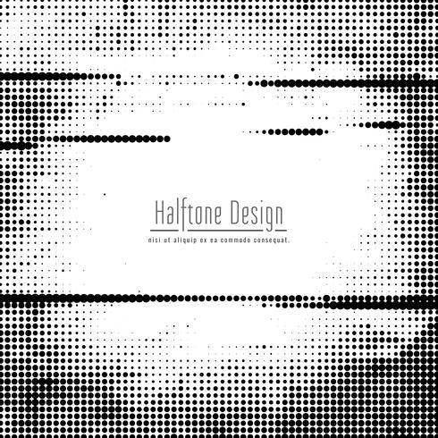 Abstrakt modern halvton design bakgrund