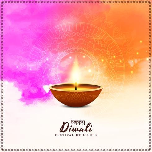Abstrakter religiöser glücklicher Diwali-Hintergrund