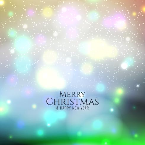 Abstract Merry Christmas colorful background