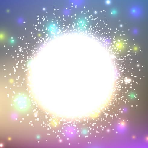 Fondo brillante abstracto brilla