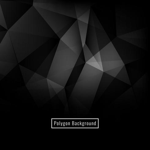 Fundo abstrato polígono elegante