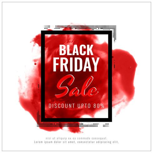 Abstract black friday sale background vector