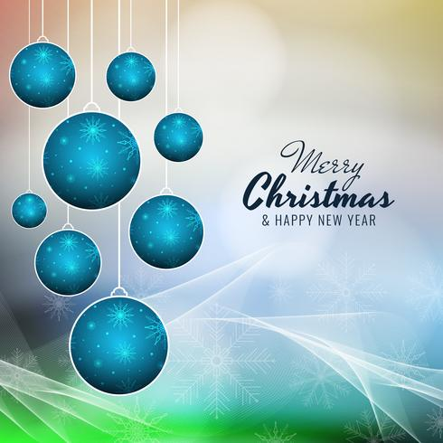 Fondo colorido abstracto feliz Navidad vector