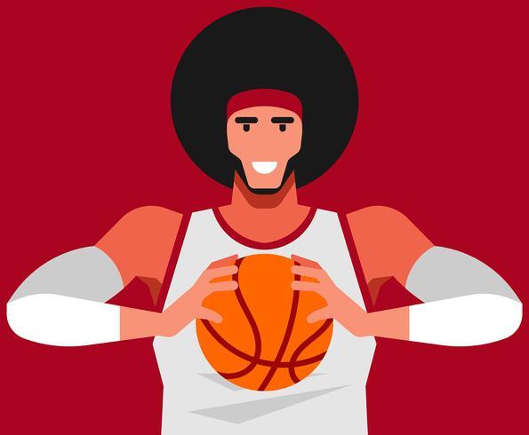 Ilustração de basquete